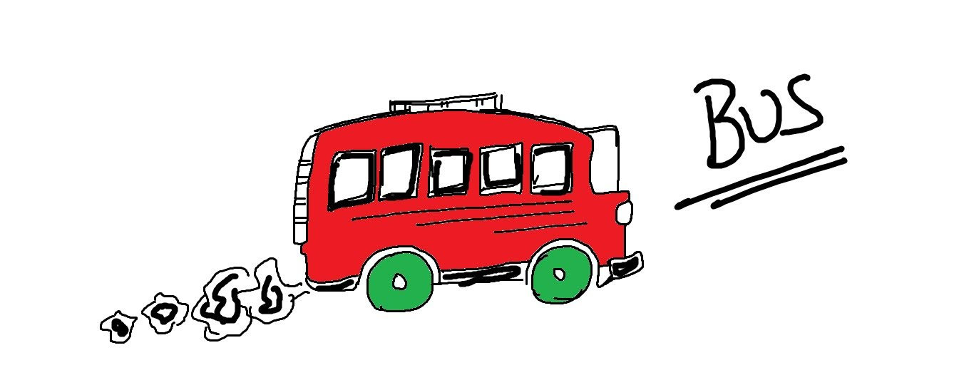 Cartoon Bus Drawing At Getdrawings Com Free For Personal Use