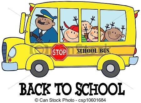450x331 School Bus Drawing With Students Truck New Ideas