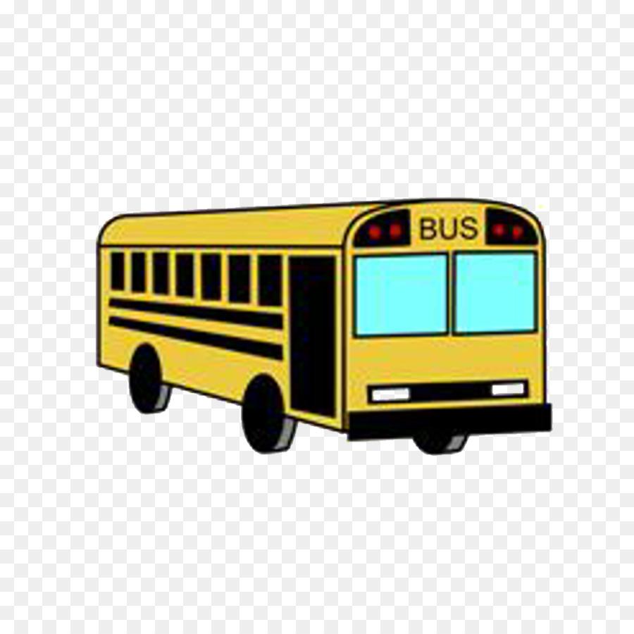 900x900 School Bus Drawing Cartoon Clip Art