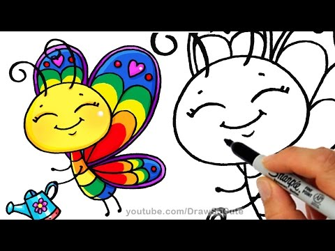 480x360 Butterfly Drawing Tutorial Drawing, Painting, And Doodling