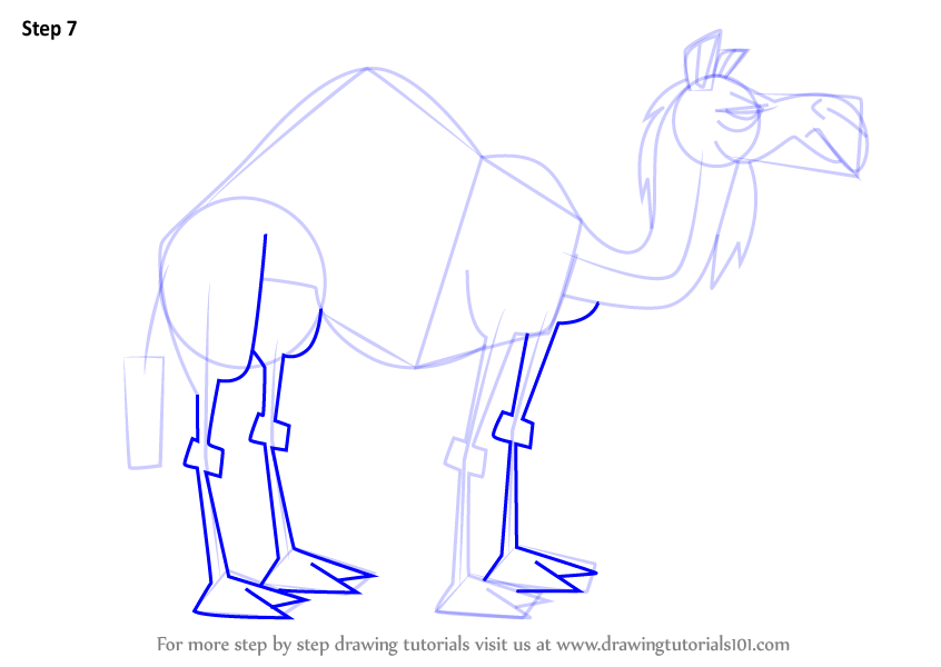 846x600 Learn How To Draw Camel From Total Drama (Total Drama) Step By