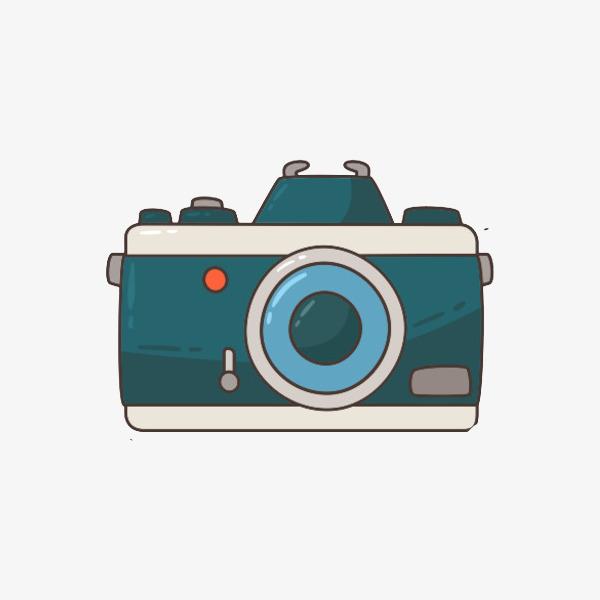 600x600 Cartoon Camera, Camera, Cartoon Hand Drawing, Painting In Water