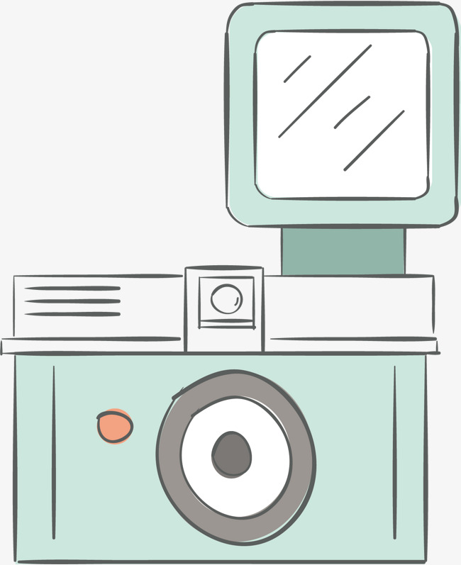 650x797 Cartoon Camera Vector, Cartoon Hand Drawing, Vector Diagram, High