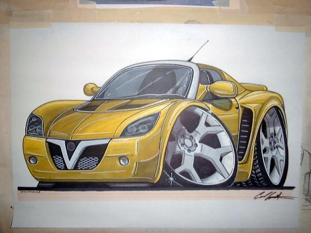 640x480 Limited Draw Your Own Cartoon Car!