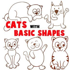 290x290 Big Guide To Drawing Cartoon Cats With Basic Shapeslove These