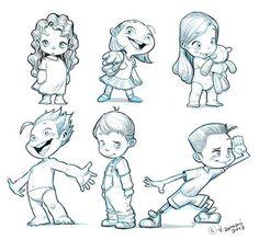 236x219 Cartoon Anotomy Character Design