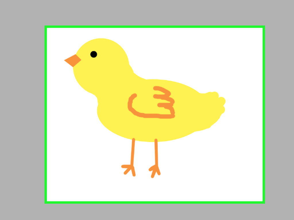 1024x768 3 Ways To Draw A Cartoon Chicken With Ms Paint