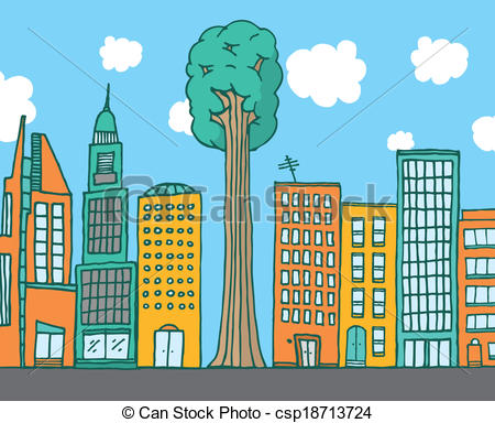 450x384 Pictures Cartoon City Drawing,