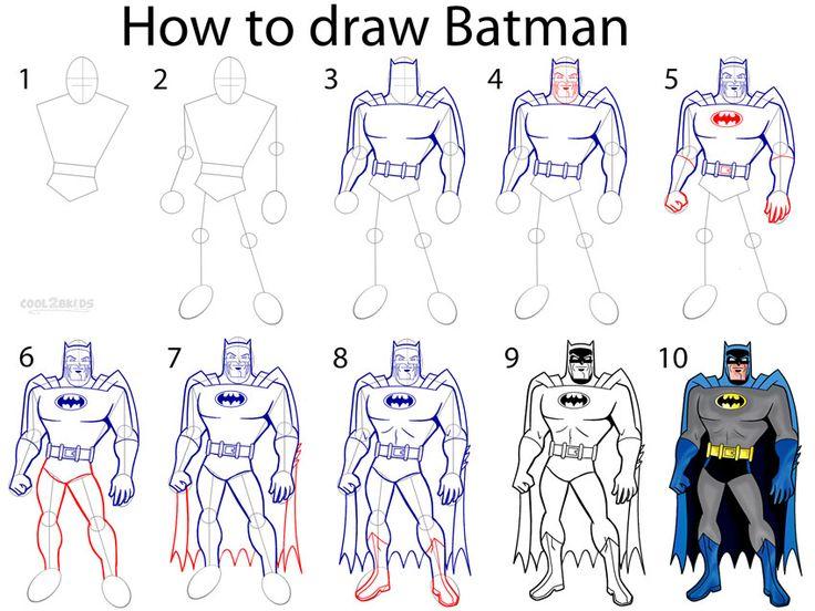 736x552 Cartoonist Lynda Barry Shows You How To Draw Batman In Her Uw