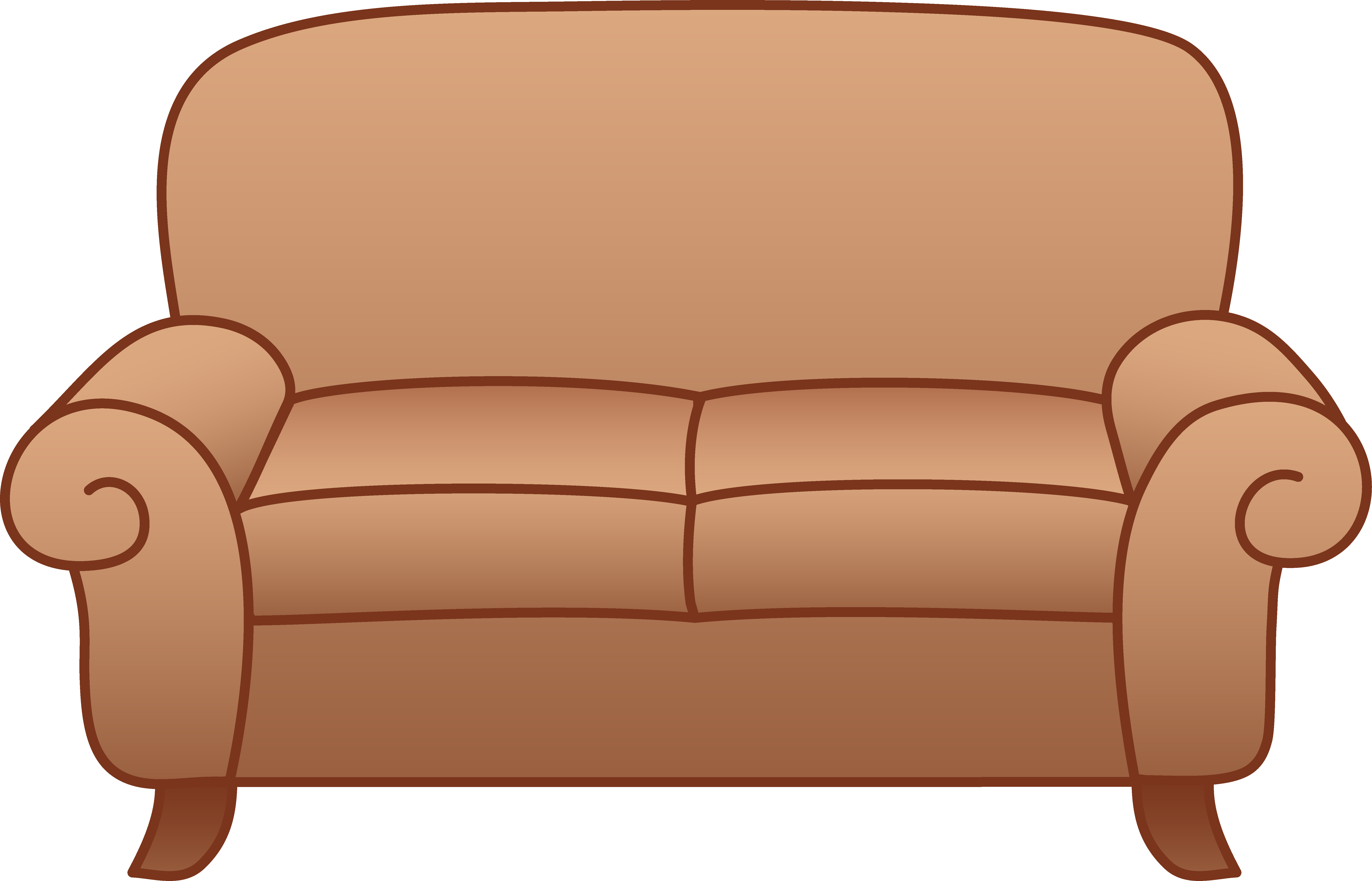 Cartoon Couch Drawing At Getdrawings Com Free For