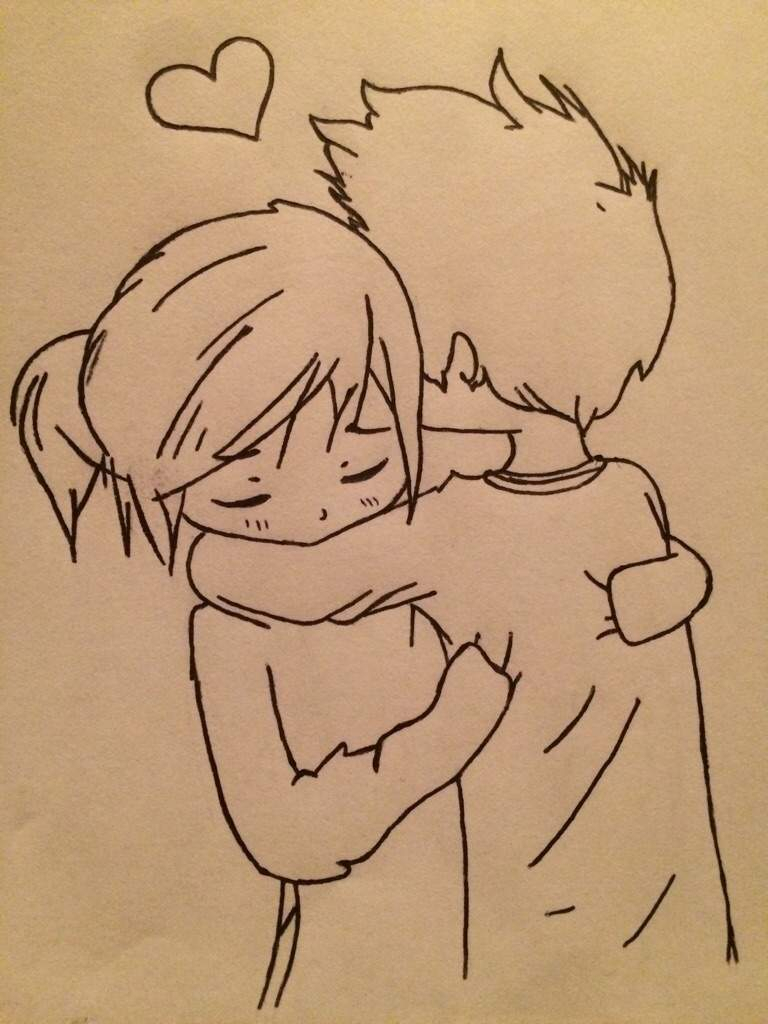 Cartoon Couple Drawing At Getdrawings Free Download
