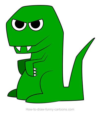 404x474 Dinosaur Drawings (Sketching + Vector)