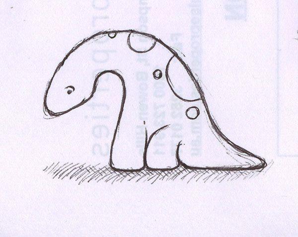 600x477 Dinosaur Drawings