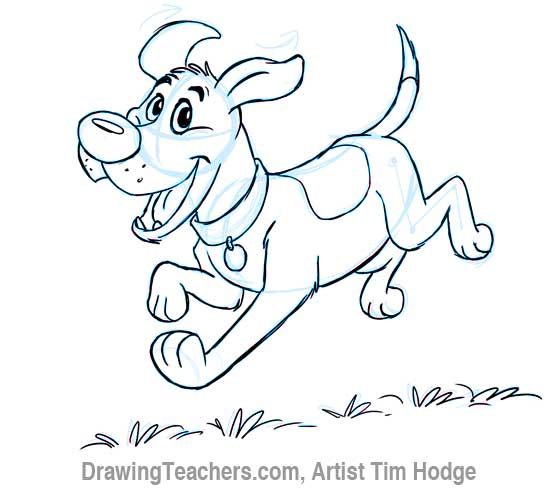 550x491 cartoon dog