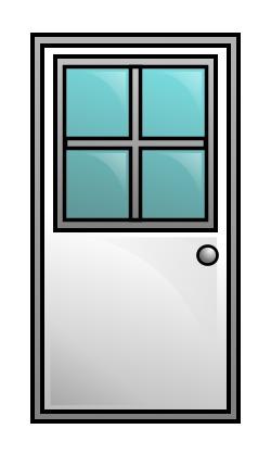 250x418 Drawing A Cartoon Door
