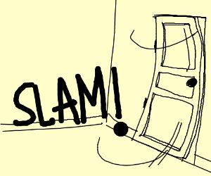 300x250 Slamming Door