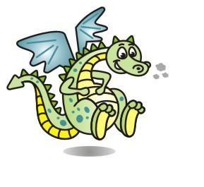 289x265 How To Draw A Cartoon Dragon!!! 5 Steps