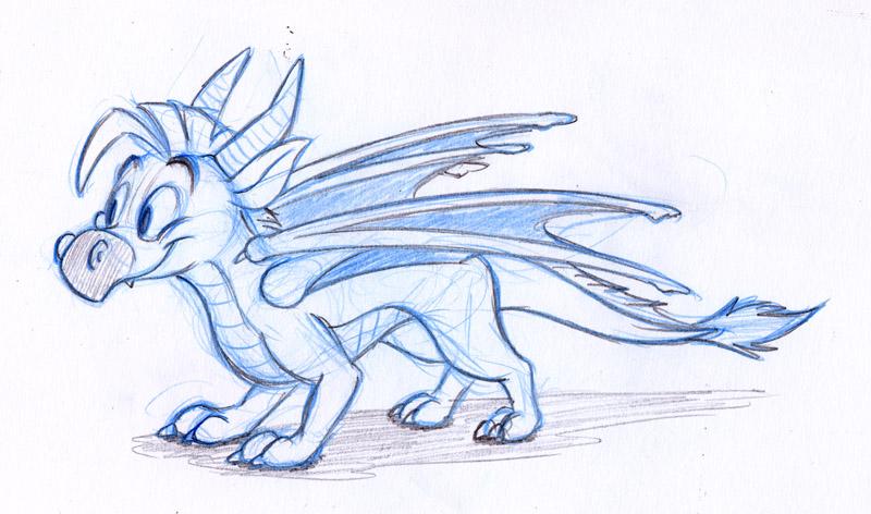 800x472 How To Draw An Easy Cartoon Dragon. Cartoon Dragon Drawing Image