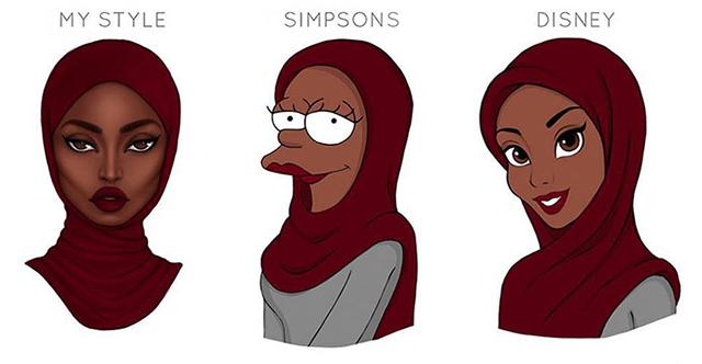 640x332 Illustrators Reimagine Their Art With Famous Cartoon Styles
