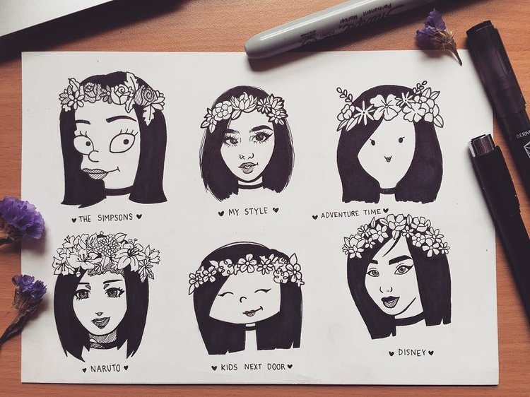 750x562 Stylechallenge Forces Instagram Artists To Draw In Different