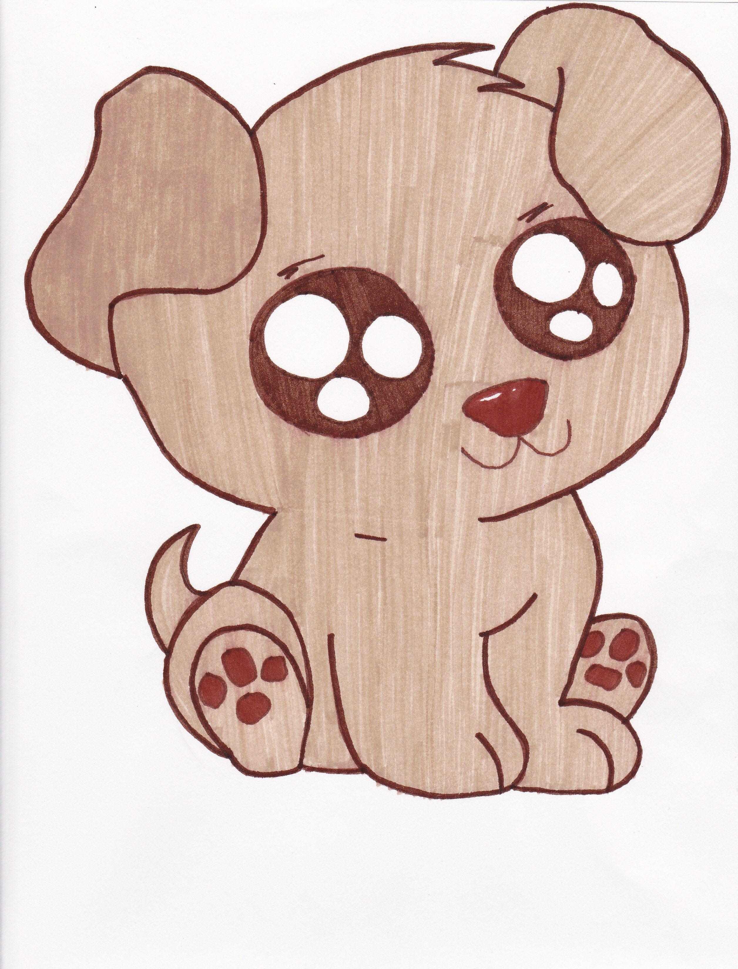 2512x3296 Cute drawings Cute Puppies Drawings