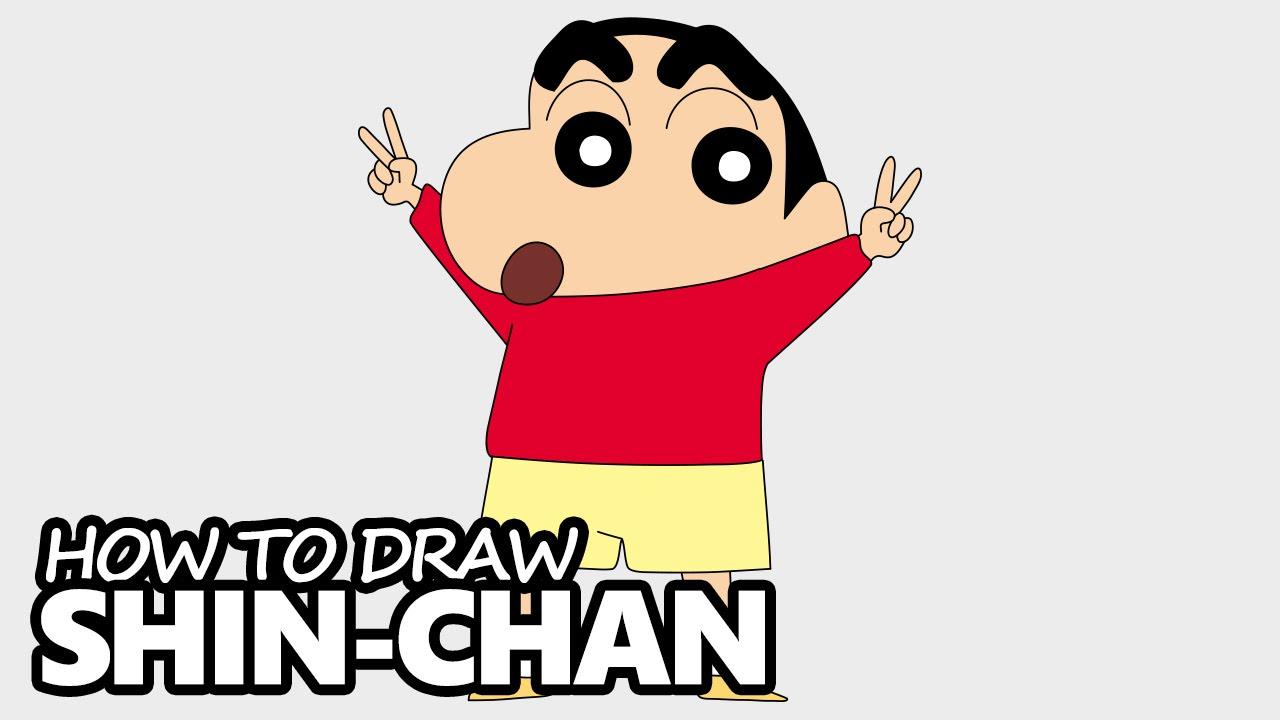 1280x720 How To Draw Shin Chan