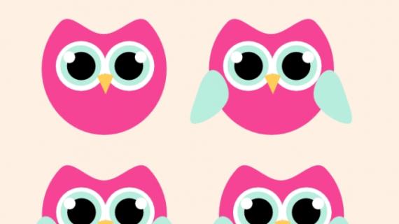 570x320 Owl Drawings Easy Drawings On Easy Cartoon Drawings How
