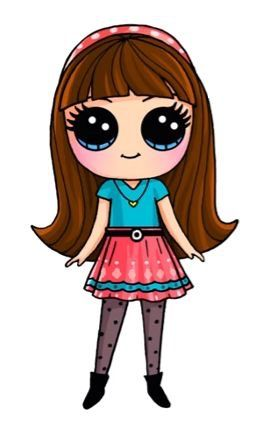 Cartoon Drawing Girl At Getdrawings Com Free For Personal Use