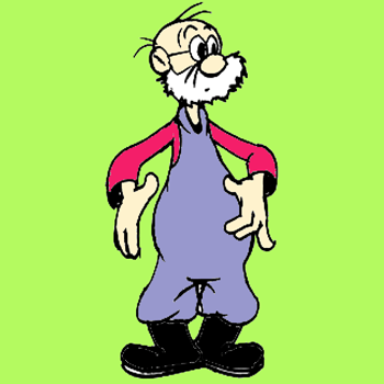 350x350 Cartooning Lesson For Drawing An Old Farmer Man