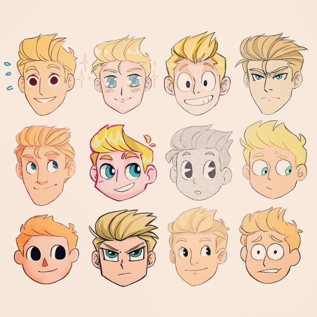 640x640 Male Hairstyles Drawing Reference