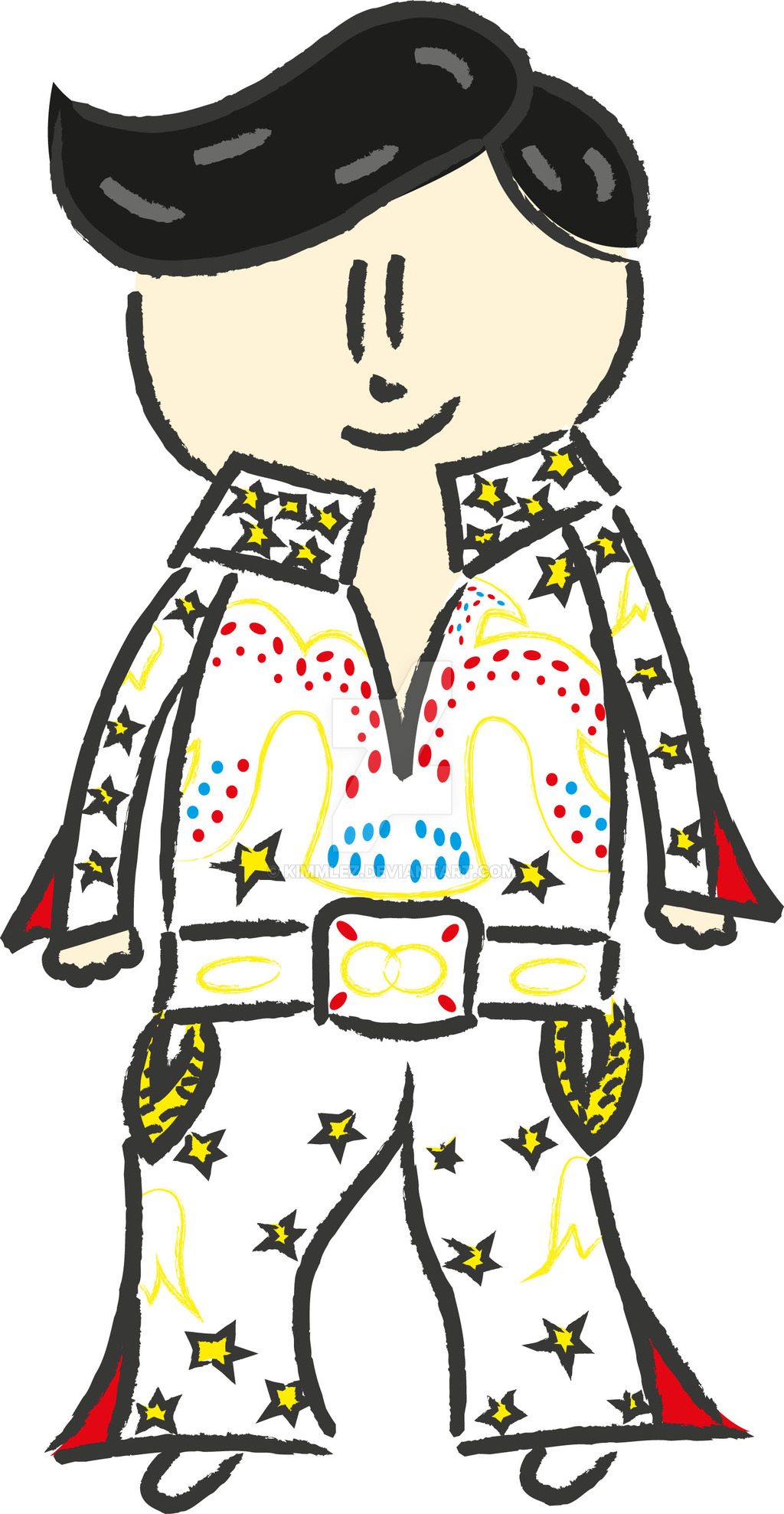 1024x1977 Elvis Cartoon Pictures Group