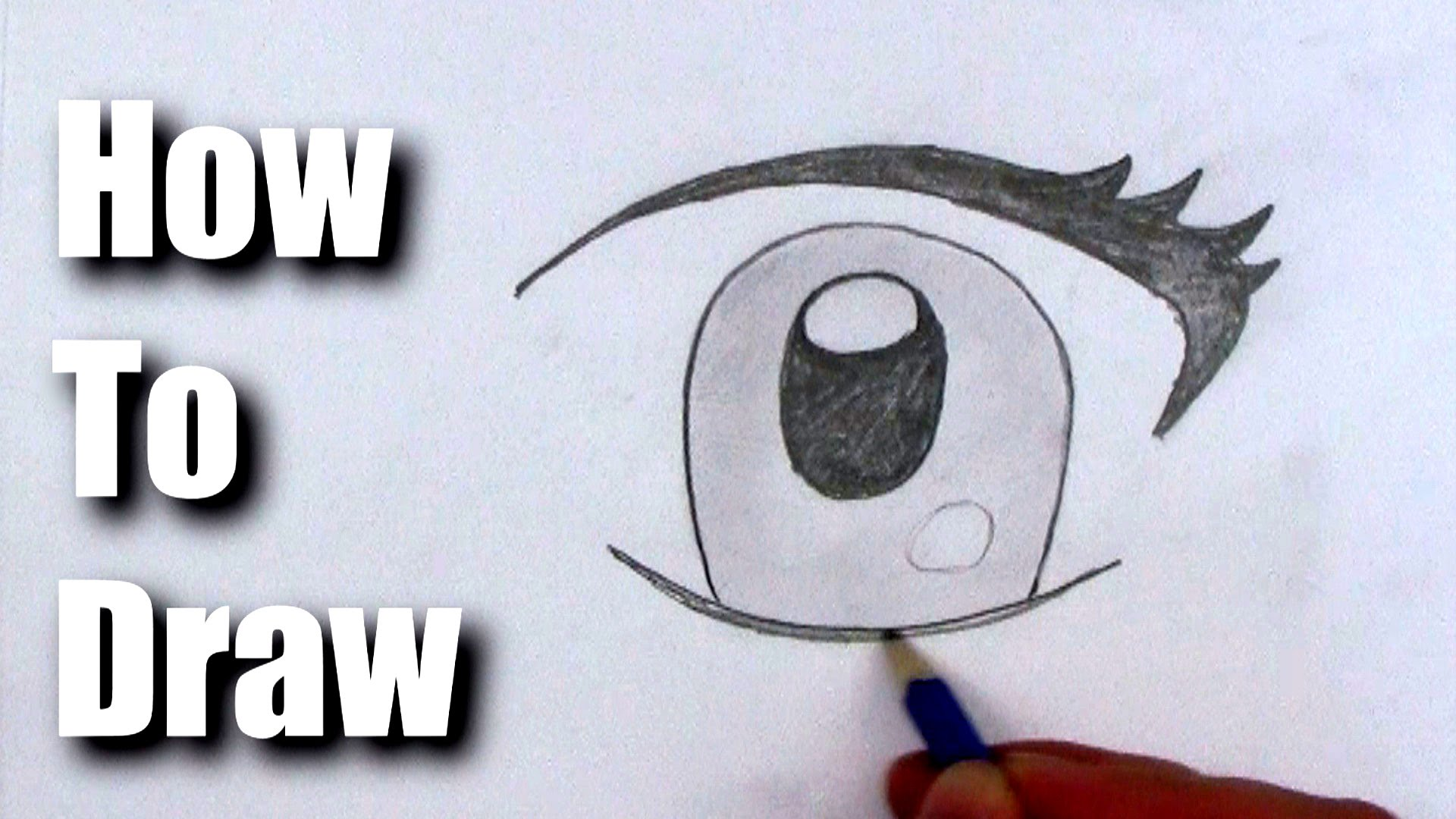 1920x1080 How To Draw A Cartoon Eye