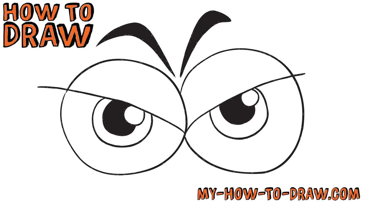 1280x720 How To Draw Angry Eyes