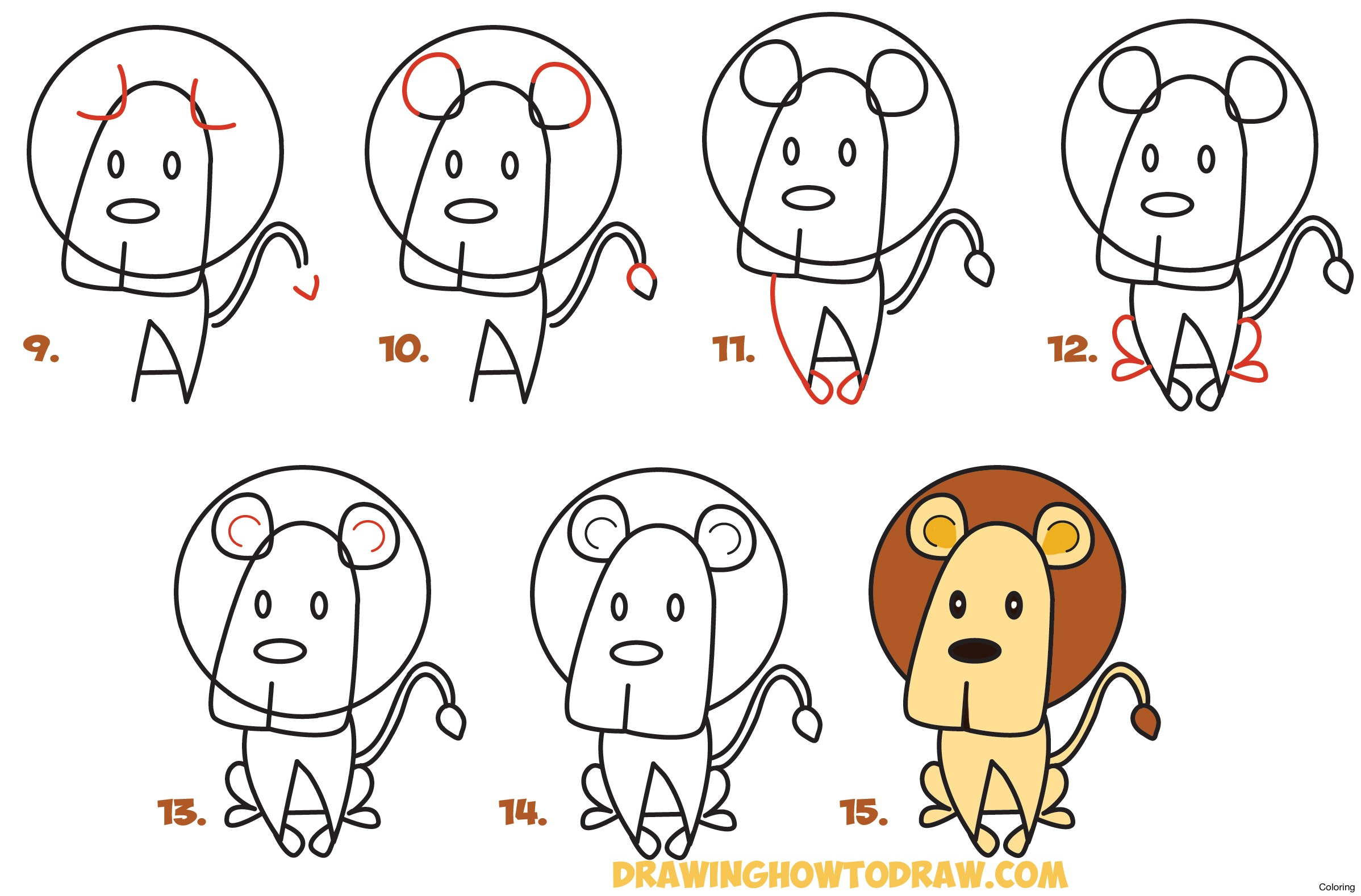 2396x1578 How To Draw Kids Coloring Sheep For Step By Drawing Tutorial 20f