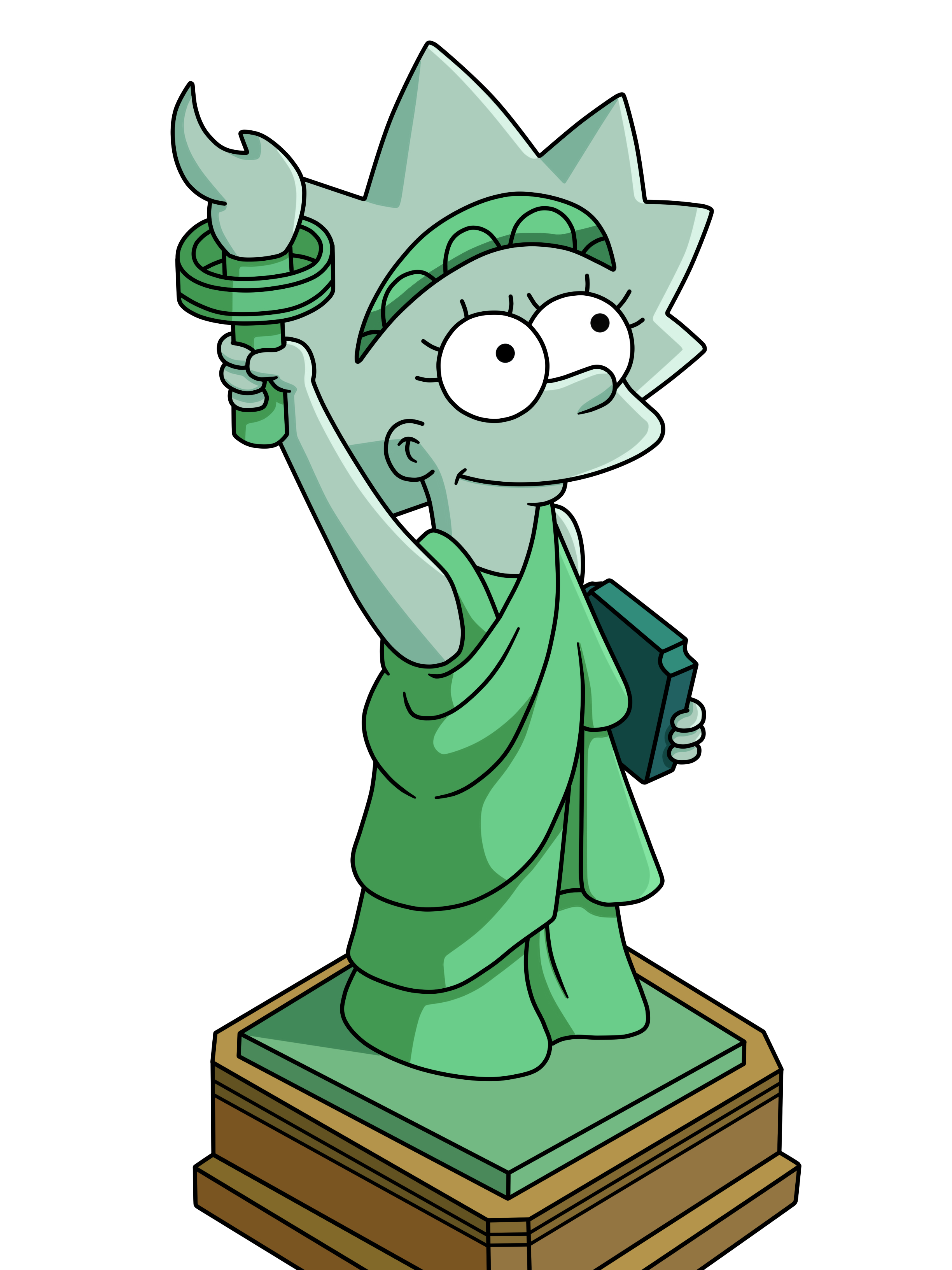 2448x3264 Statue Of Liberty Cartoon Drawing Lisa Statue Of Liberty By