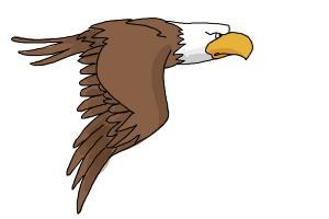 300x200 How To Draw A Cartoon Eagle