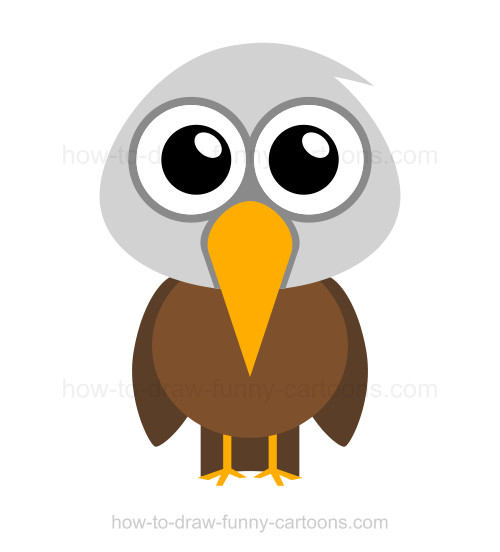 Cartoon Eagle Drawing at GetDrawings.com | Free for personal use ...