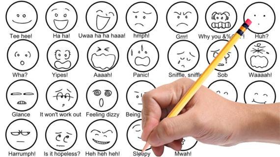 570x320 Drawing Facial Expressions Cartoon How To Draw Cartoon Facial