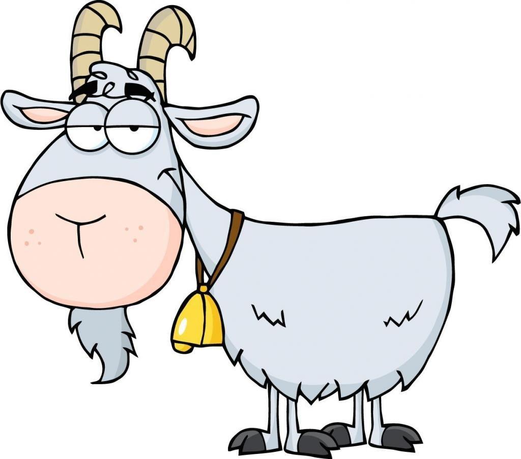 1024x902 Cartoon Goat
