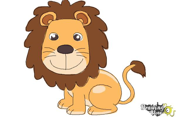 600x400 How To Draw A Lion For Kids