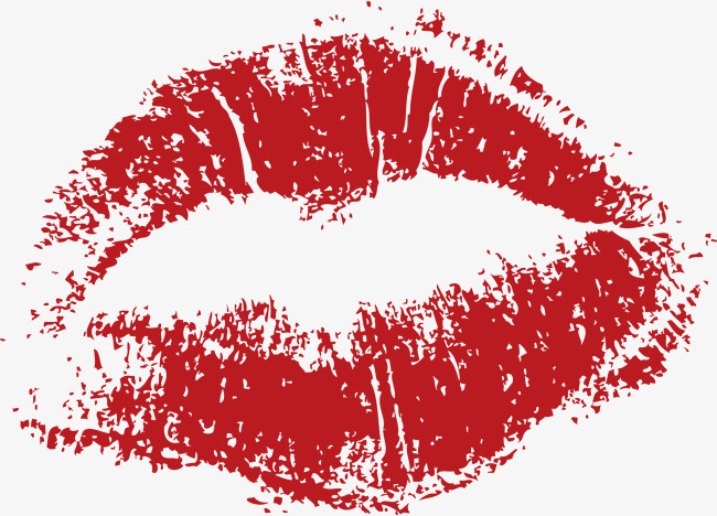650x468 Vector Lip, Red Lips, Big Mouth, Cartoon Hand Drawing Png