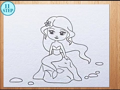 480x360 How To Draw A Mermaid