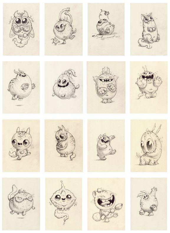 576x792 Chris Ryniak January Drawing Sale Preview! Monster Art Chris