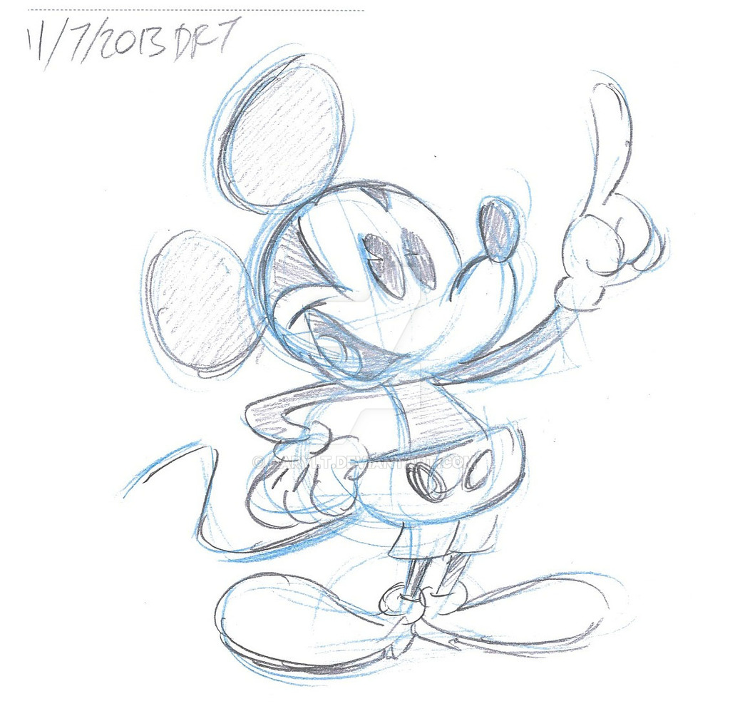 1024x997 New Mickey Mouse Cartoons Copy By Darylt