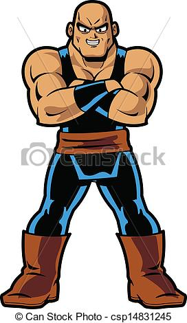 272x470 Anime Manga Muscle Man Eps Vector