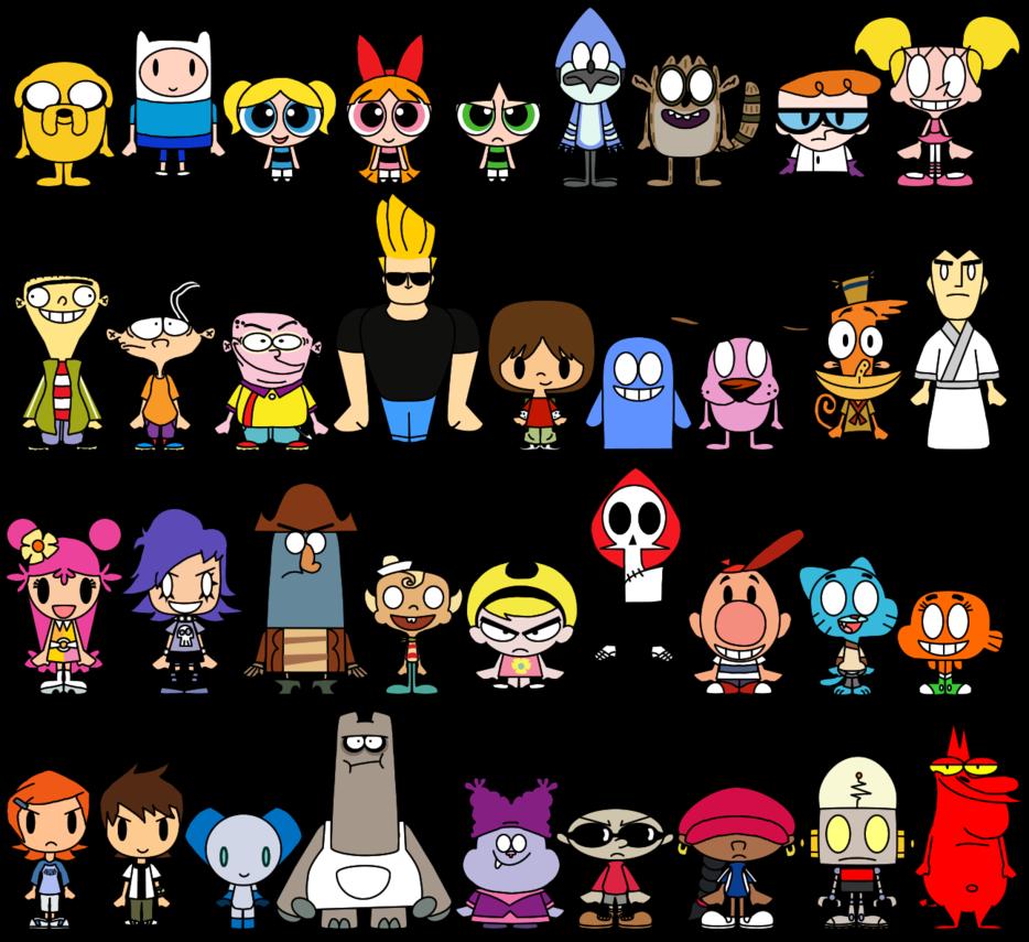 934x855 Cartoon Network Pacs By Limeth