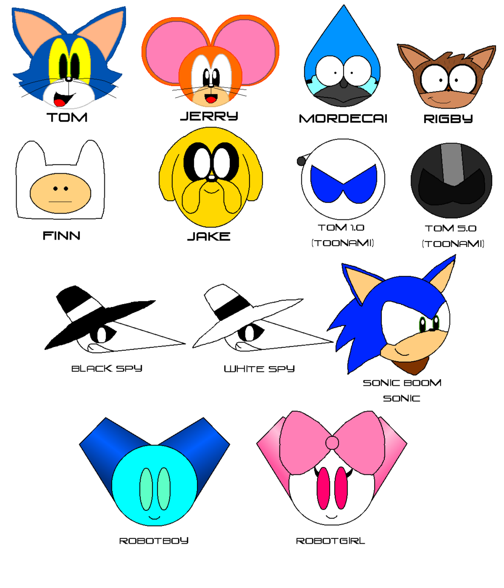 1024x1195 Network Characters By Cheezn64x