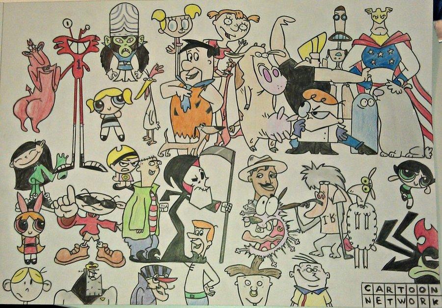 900x628 90s 00s Cartoon Network By Possessedtoast
