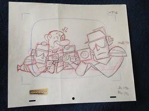 300x225 Original Production Drawing, Powerpuff Girls (Cartoon Network
