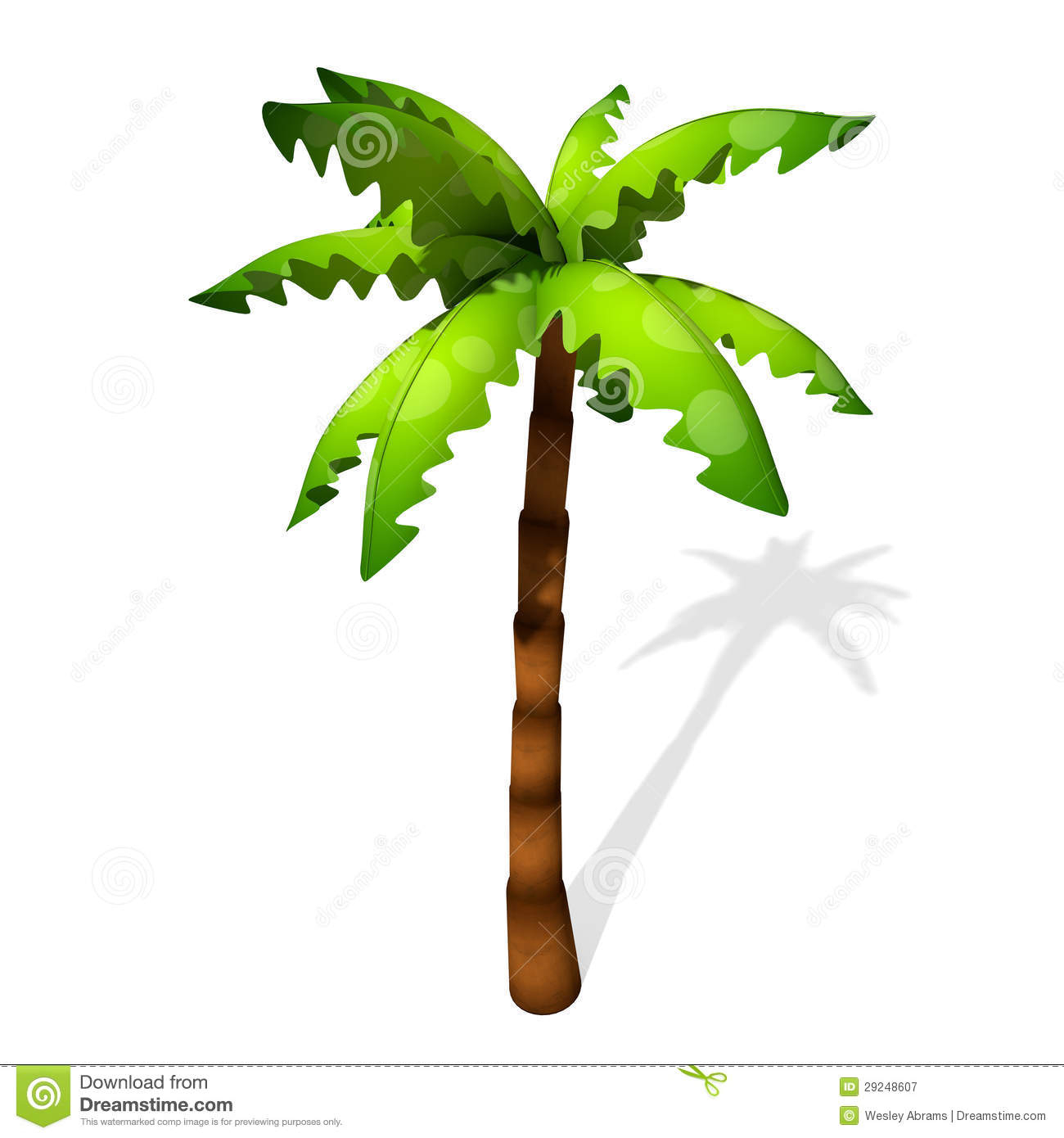 1300x1390 Palm Tree Cartoon Drawing Cartoon Palm Tree Stock Photo